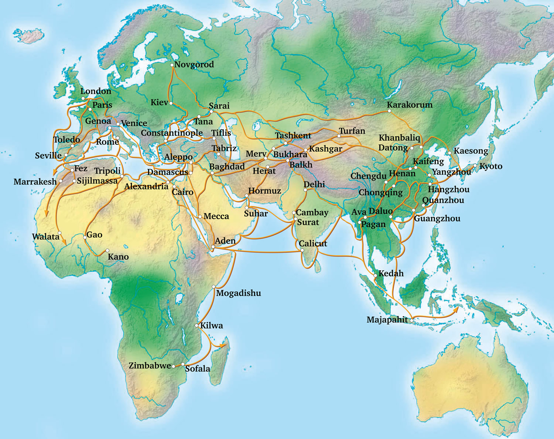 ArabicEtymologyFromZerotoZenithmap Inspiral Design