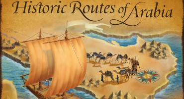 Historic Routes of Arabia calendar cover